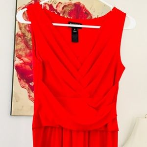 Bright Red Dress Perfect For Valentines